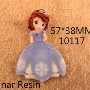 flat back Cartoon girl planar resin for diy holiday decoration crafts accessories 25 piece,DIY handmade material,25Yc627