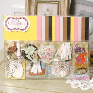 diy scrapbooking cards and envelopes creative card kit gift set