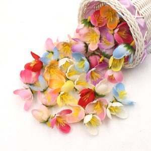 10pcs/lot Hybrid Stamen Artificial Flower For Wedding Home Decoration Accessories Floral Scrapbooking DIY Craft Supplies