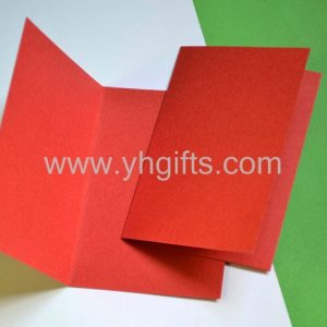 10PCS/LOT.Light yellow/Red/Blue/Green folded blank cards,Handmade greeting cards...