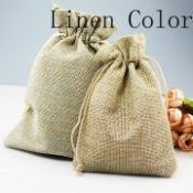 pcs 15xcm Jute Bag Drawstring Jewelry bags Gift Candy Beads Bags Storage Wedding Linen Gift Bags 13colors Can Pick