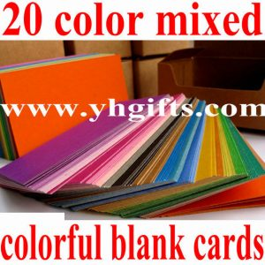 300PCS/LOT.Mixed  color blank card,Drawing toys.Craft material,DIY material.scra...