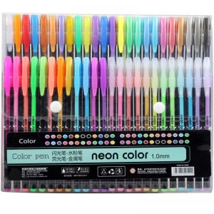 48 colors sketch pen marker painting drawing stationery line pen kawaii fine lin...