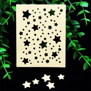YPP CRAFT Stars Frame Metal Cutting Dies for DIY Scrapbooking/Card Making/Kids Fun Decoration Supplies